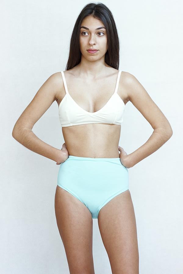 Bikini retro ecologico Moda baño sostenible - Ilovebelove