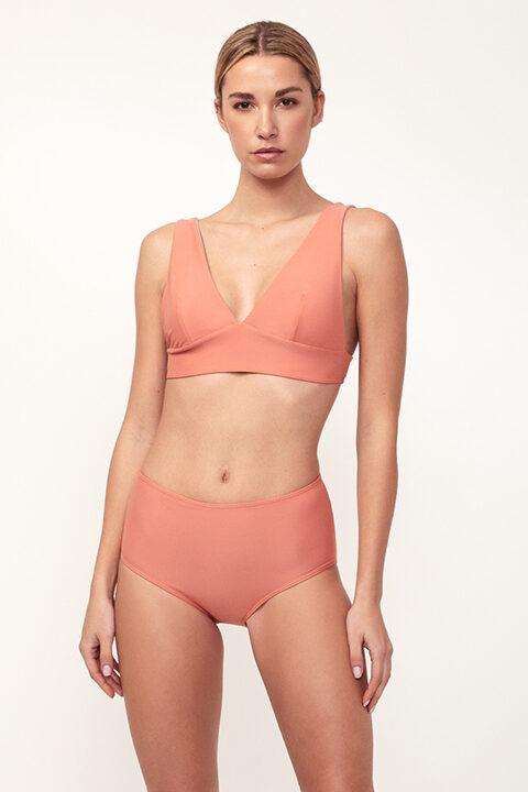Bikini rosa Comfy - Braguita alta - ILOVEBELOVE