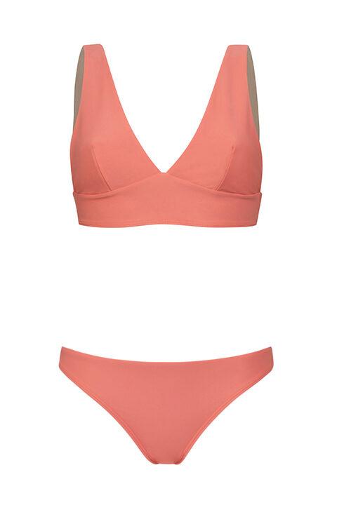 Bikini rosa Comfy - Braguita baja - ILOVEBELOVE